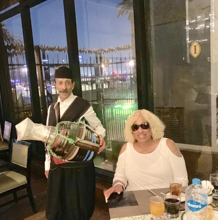 Erk Sous Server at Iftar