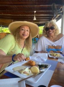 Margaret & Kat at Breakfast