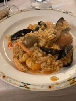 Seafood Risotto at MIKY