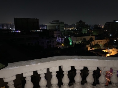 Looking Over Cairo from My balcony 3am