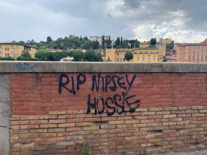In Florence, on the Bridge, Ponte Vecchio