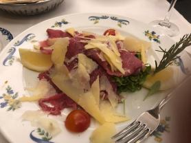 Carpaccio at Sabatini's