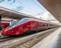 High Speed Italian Italo Train