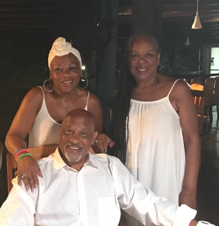 Charles, Crystal and June (rip)