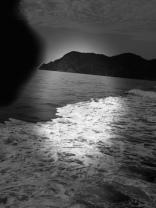 On Ferry to Riomaggiore
