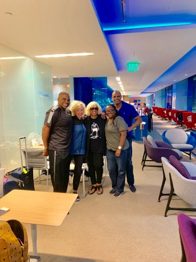 Marlon, Judy, JoAnn and Terry at Virgins Clubhouse SFO