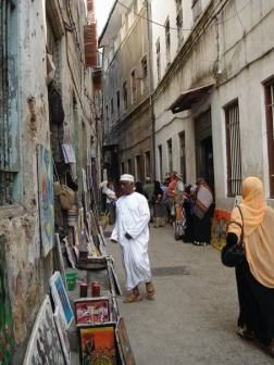 Many maze like alleyways