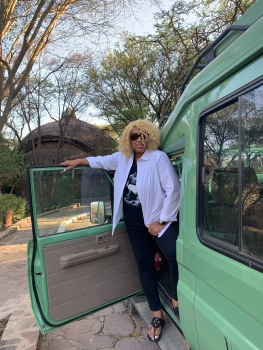 Leaving Serengeti Serena