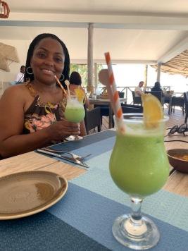 Lunch at Gabi Beach