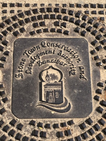Manhole Cover Zanzibar Style
