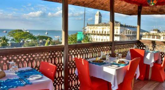 Dinner at Jafferji House Rooftop Restaurant