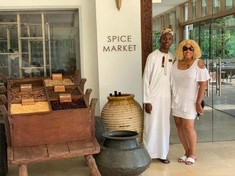 Breakfast at Spice Market Restaurant