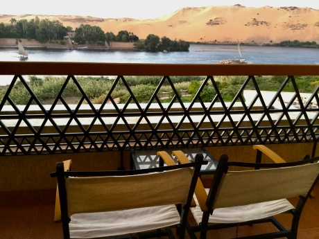 My Room View in Aswan