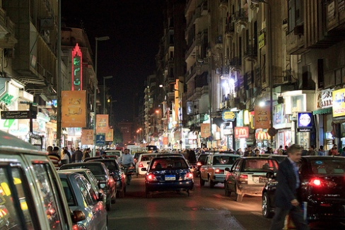 Cairo Night Scene