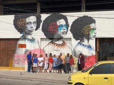 Authentic Face of Cartagena, Las Tres Guerreras