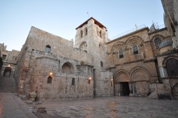 Church of Holy Sepulcher where Jesus was Crucified and Buried