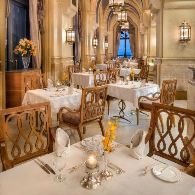 Lunch at Le Vendome at Emirates Palace