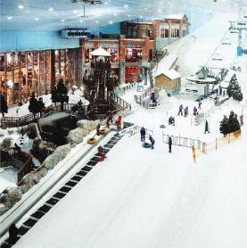 Indoor Ski Resort, Dubai