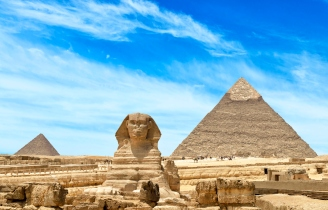 Pyramids, Great Sphinx, Egypt
