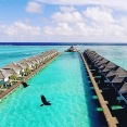 Our Over Water Bungalows in the Maldives